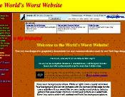Bad and Outdated Web Design
